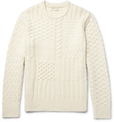 Club Monaco - Textured Wool And Cashmere-blend Sweater