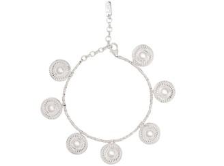 Loft & Daughter Kalbelia Coin Charm Bracelet Silver