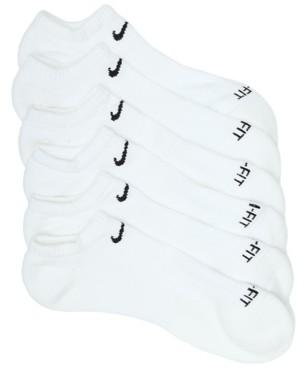 Nike Cotton Cushioned Men's No Show Socks - 6 Pack