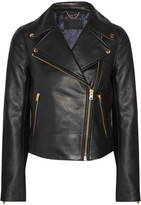 J.Crew Leather Biker Jacket - Black