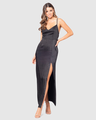 Pilgrim Women's Black Bridesmaid Dresses - Farah Gown - Size One Size, 6 at The Iconic