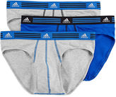 adidas 3-pk. Climalite Athletic Stretch Briefs