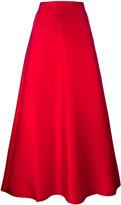 Max Mara mid-rise A-line skirt - women - Silk/Polyester - 44