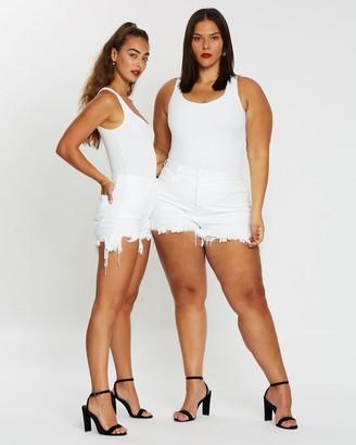 Good American The Bombshell Shorts