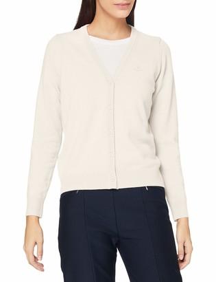 Gant Women's Superfine Lambswool Cardigan Sweater
