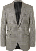 Favourbrook - Black Hertford Prince Of Wales Checked Wool Suit Jacket