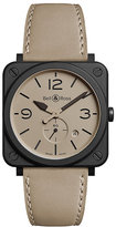 Bell & Ross Men's Ceramic Strap Watch
