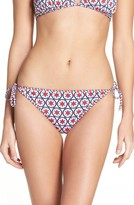 Tommy Bahama Women's Geo-Graphy Reversible String Bikini Bottoms