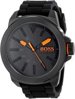 BOSS ORANGE Men's 1513004 New York Analog Display Quartz Watch