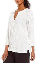 Eileen Fisher Button Front Shirt