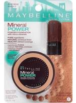 Maybelline New York Mineral Power Natural Perfecting Powder Foundation, Pure Beige, Medium 2, 2 Ea