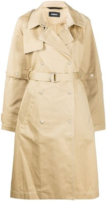 Diesel Double-Breasted Trenchcoat