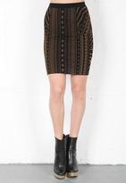 Torn By Ronny Kobo Celine Tribal Skirt