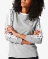 adidas 3-Stripes Long-Sleeve Top