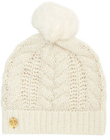 Vince Camuto Cable-knit Pom Hat