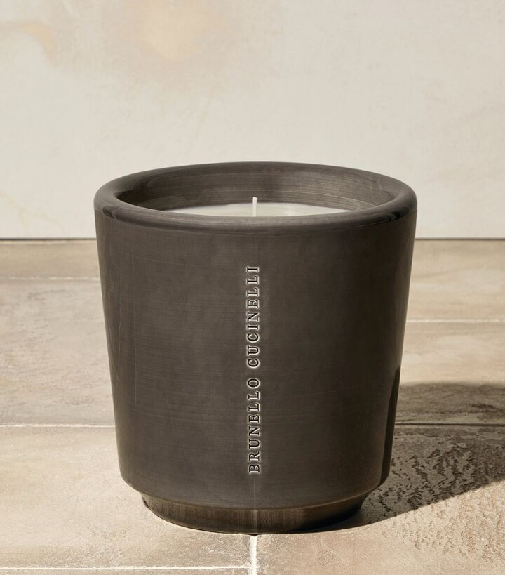 Thumbnail for your product : Brunello Cucinelli Ebano Candle (18cm)