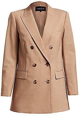 Lafayette 148 New York Women's Slade High Line Double-Breasted Wool-Blend Jacket