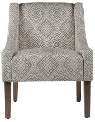 HomePop Swoop Arm Chair