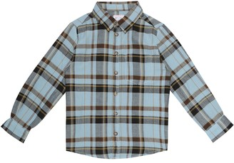 Morley Benjamin checked cotton shirt