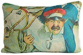 The Well Appointed House Clown Riding A Donkey Pillow