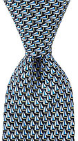 Roundtree & Yorke Boats Traditional Silk Tie