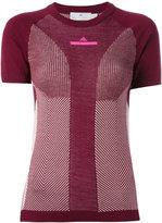 adidas by Stella McCartney Ultra T-shirt - women - Polyester/Lyocell/Wool - S