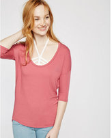 Express one eleven scoop neck london tee