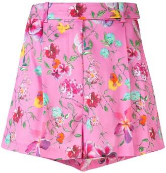 Ermanno Scervino Floral Print Shorts
