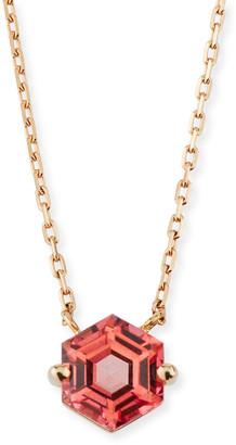 Suzanne Kalan KALAN by Amalfi 14k Rose Gold Hexagon Pendant Necklace