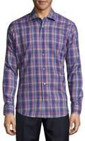 Robert Talbott Crespi Casual Printed Sportshirt