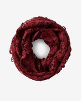 Express crochet loop scarf
