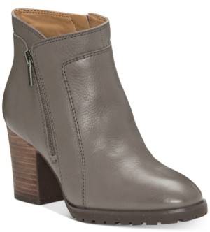 Lucky Brand Women's Nilafa Leather Booties Women's Shoes