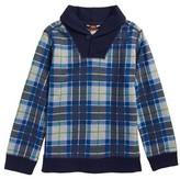 Tea Collection Toddler Boy's Tartan Pullover