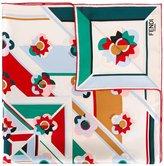 Fendi Flowerland scarf - women - Silk - One Size