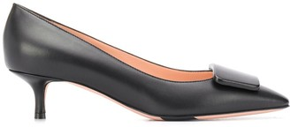 Bally square-tip 40mm slip-on pumps
