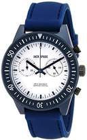 Jack Spade Men's WURU0112 Wilkins Blue Stainless Steel Watch with Matching Silicone Band