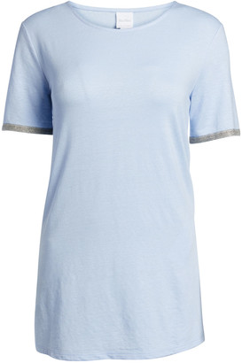 MAX MARA LEISURE Short-Sleeve Side-Split T-Shirt