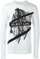 Helmut Lang printed longsleeved T-shirt