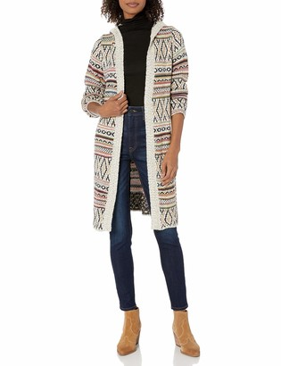 Angie Women's Multicolor Hooded Sweater