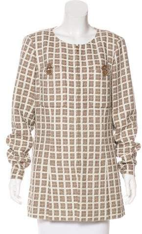 Chanel 2017 Paris-Cuba Tweed Coat