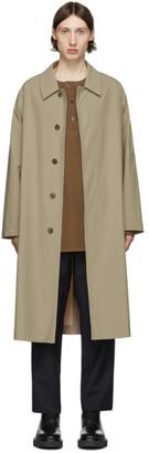 Harris Wharf London Beige Light Technic Mac Coat