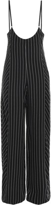 Alexander Wang Striped Twill Jumpsuit
