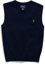 Polo Ralph Lauren Cotton Sweater Vest (5-7 Years)