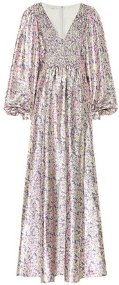 Stella McCartney Floral silk-blend dress