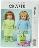 Mccall's M5019 18-Inch Doll Clothes and Accessories