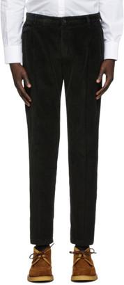 Dolce & Gabbana Black Corduroy Trousers