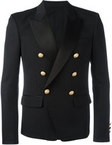 Balmain double breasted blazer - men - Silk/Cotton/Cupro/Wool - 50