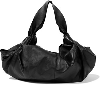 The Row Ascot Medium Knotted Leather Tote