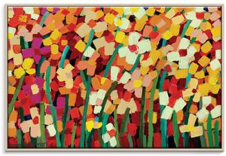 Artist Lane Skeeta Daisies Canvas Print With Frame