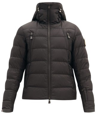 Moncler Camurac High Neck Down Filled Ski Jacket - Mens - Black